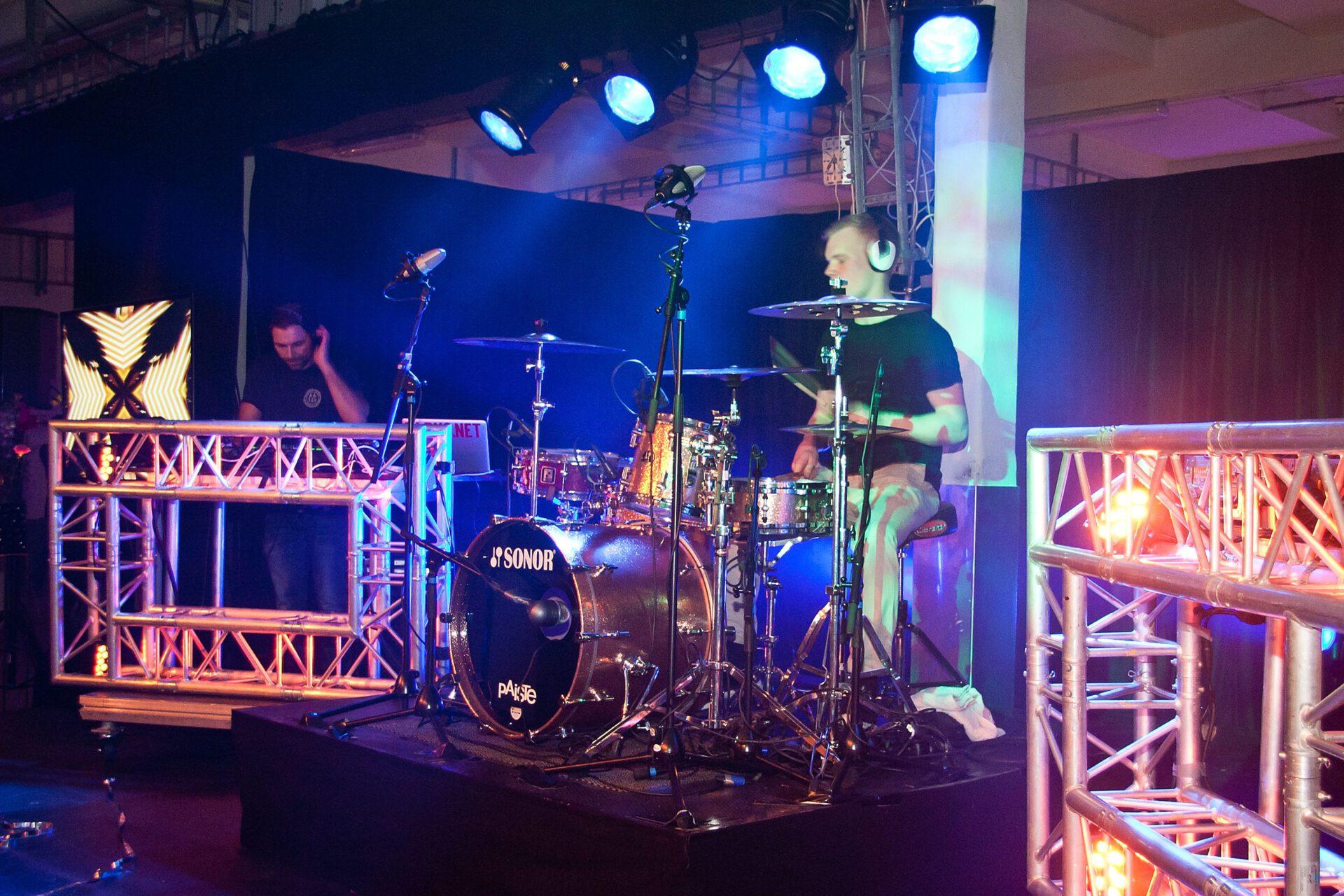 Live entertainment open dag