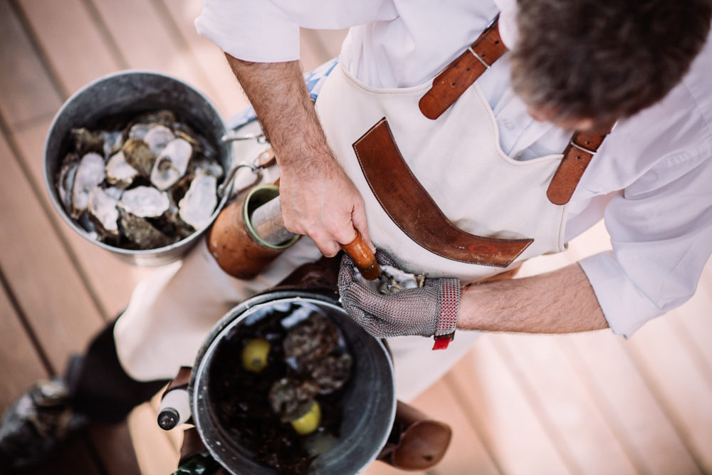 oesters op event