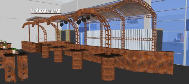 industriele bar