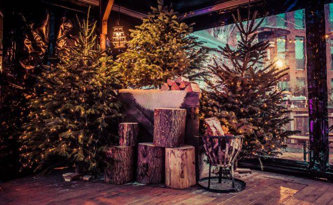 Winterse feestdecoratie